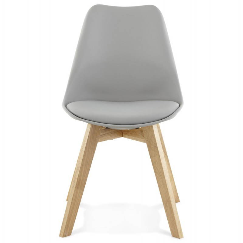 modern chair style scandinavian sirene grey