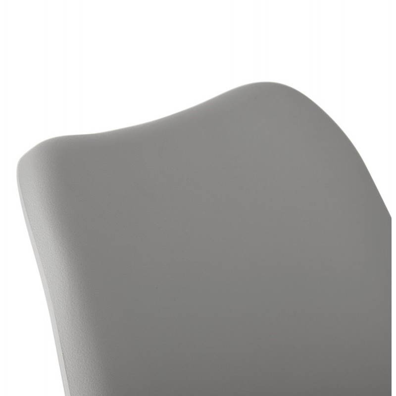 Chaise moderne style scandinave SIRENE (gris) - image 25377