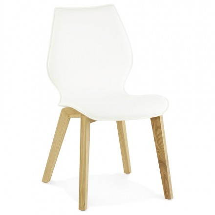 Scandinavian style Chair vintage MARTY (white)