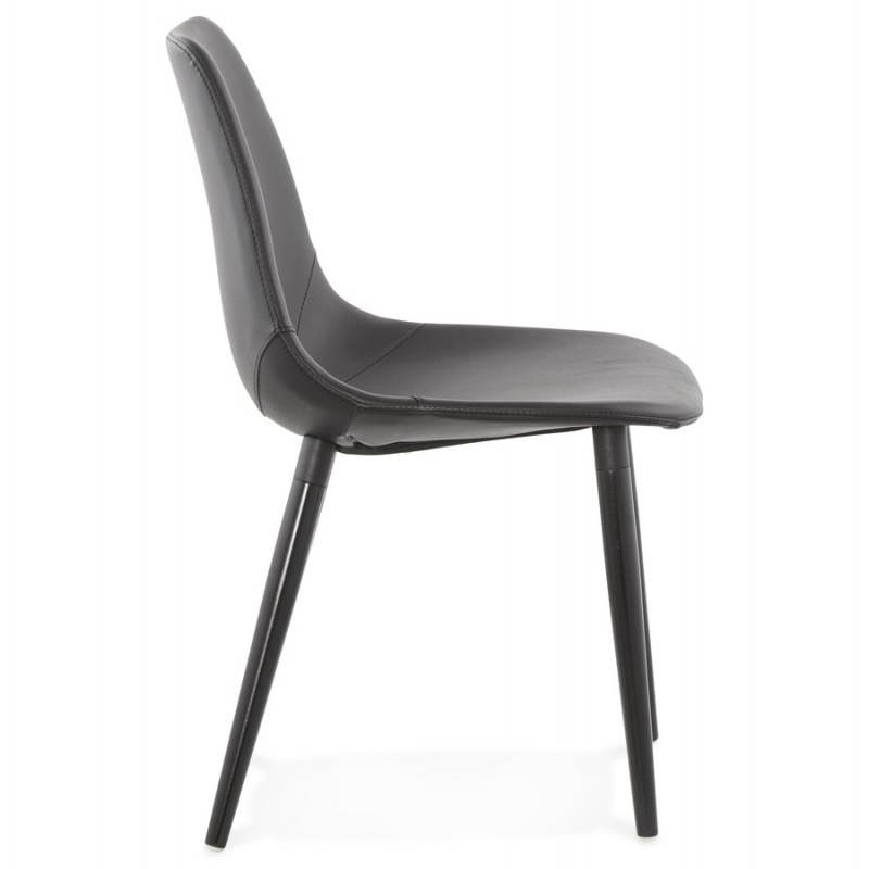 chaise design contemporaine lola noir - Chaise Contemporaine Design