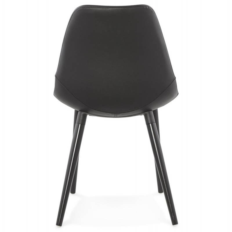 Contemporary design chair LOLA (black) - image 25445