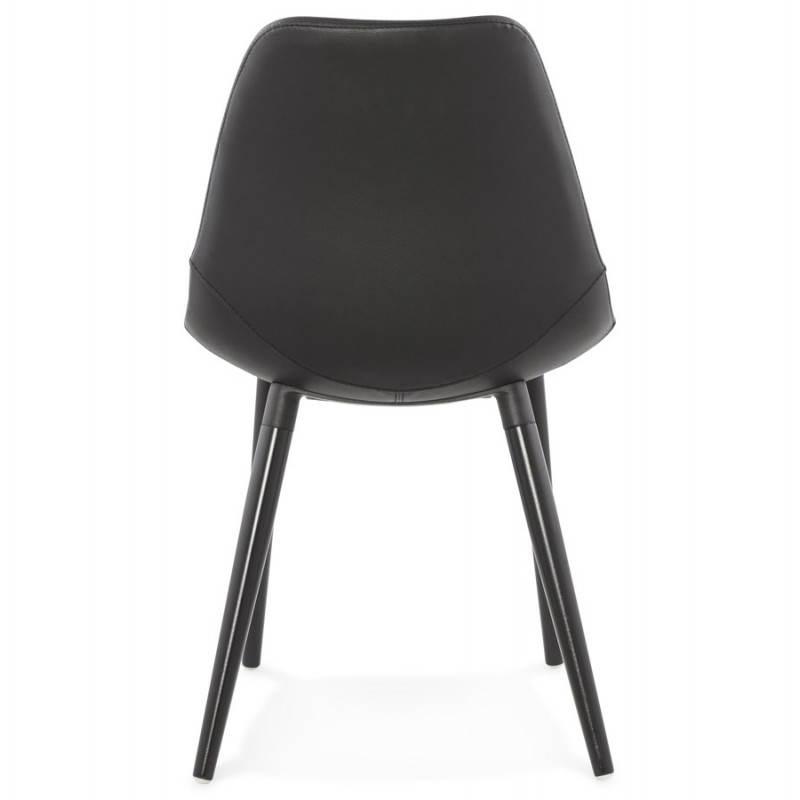 Chaise design contemporaine LOLA (noir) - image 25445