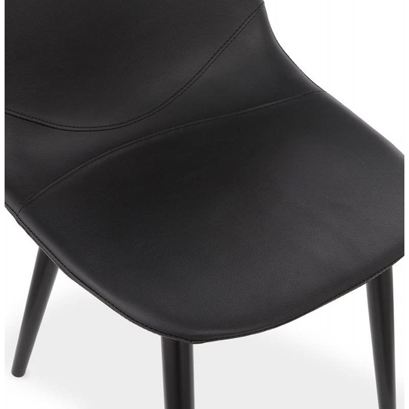Contemporary design chair LOLA (black) - image 25446