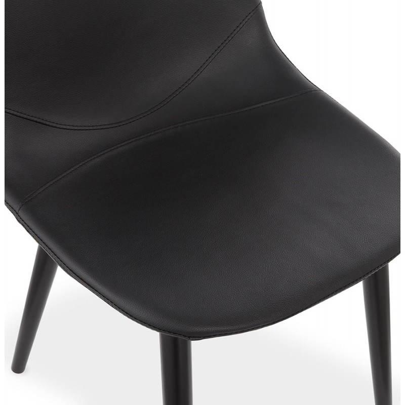 Chaise design contemporaine LOLA (noir) - image 25446