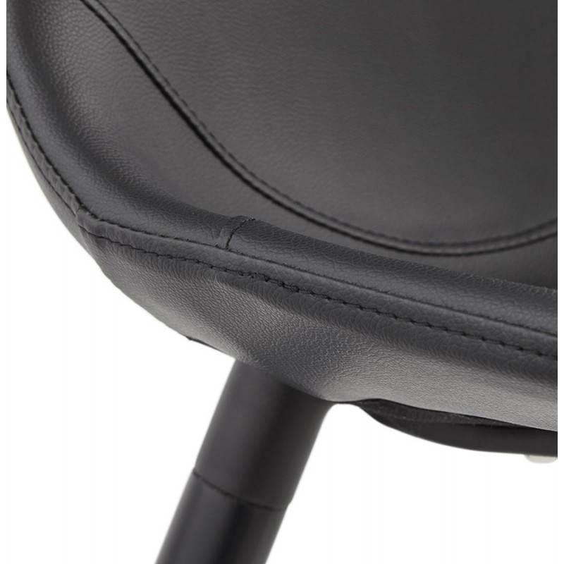 Chaise design contemporaine LOLA (noir) - image 25448