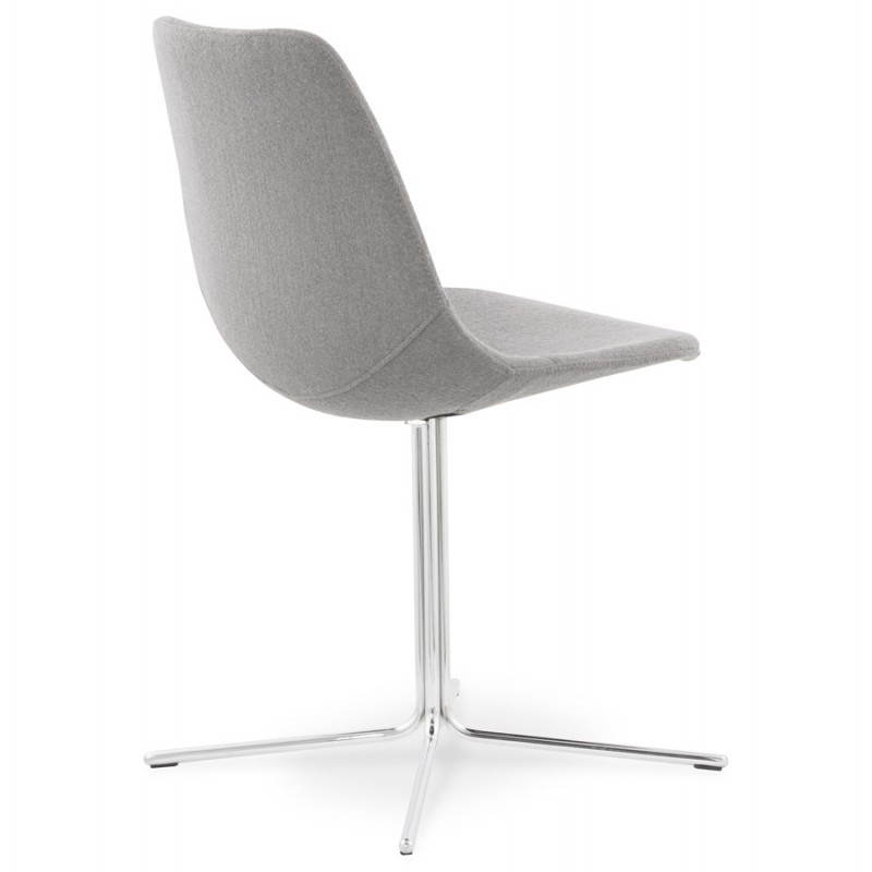 Chaise design contemporaine OFEN en tissu (gris) - image 25457