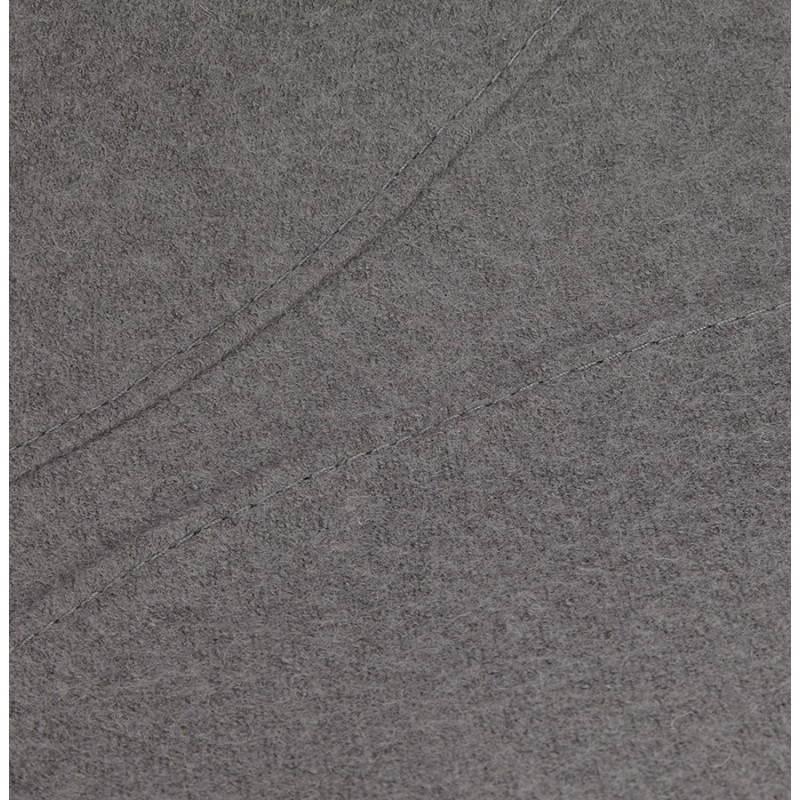 Silla de diseño contemporáneo OFEN en tela (gris) - image 25462