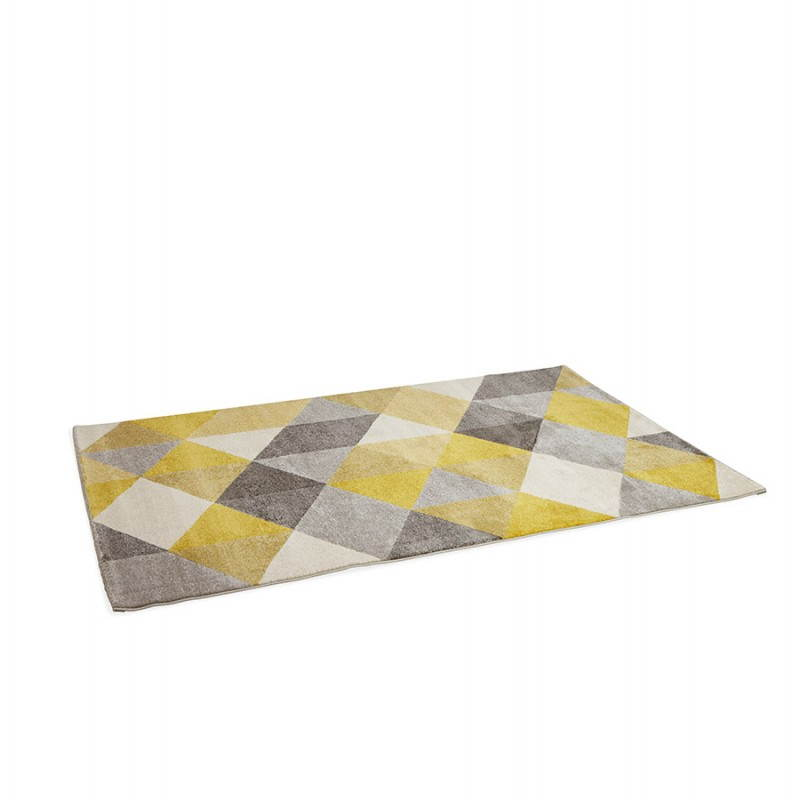 tapis design style scandinave rectangulaire geo 230cm x With tapis scandinave gris