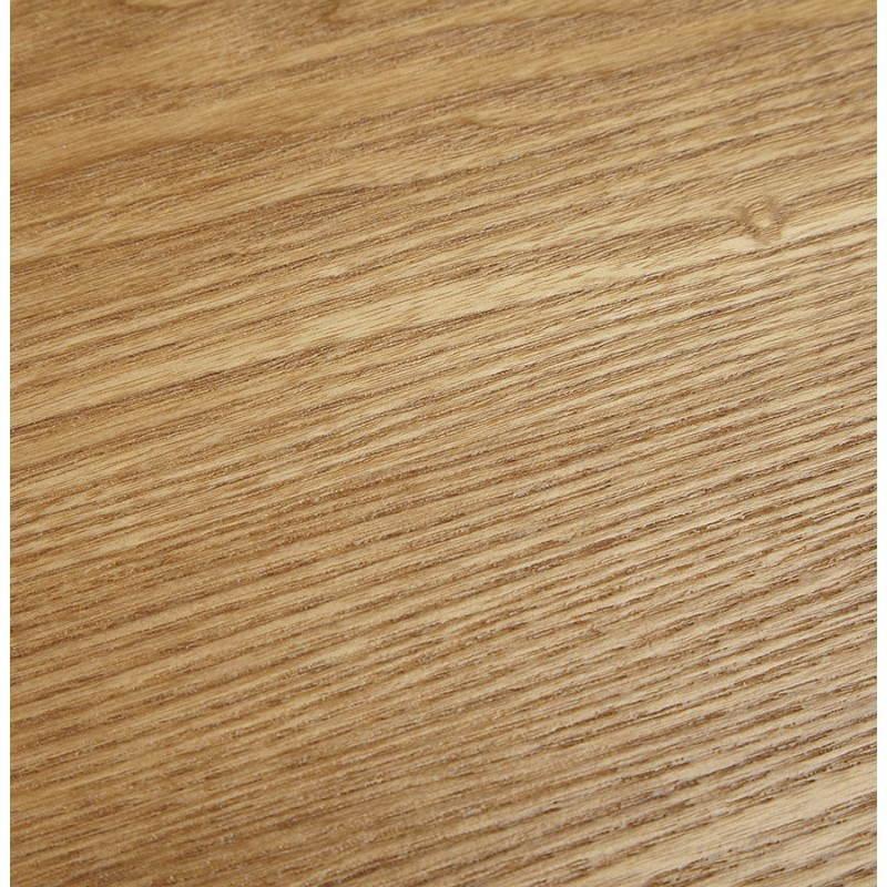 Table à manger style scandinave ronde PONY en bois (Ø 120 cm) (naturel) - image 25747