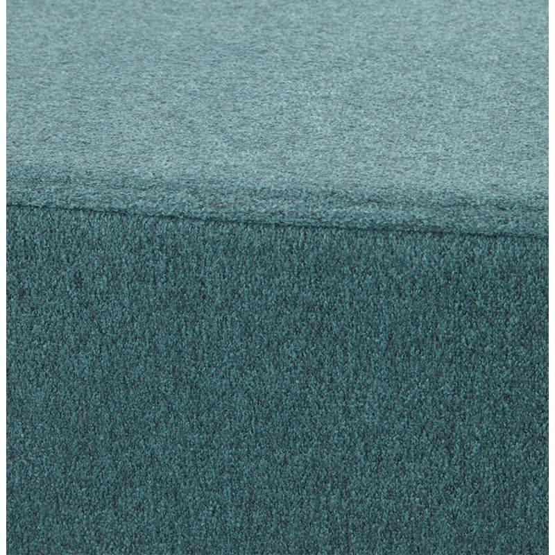 Pouf carré BARILLA en tissu (bleu) - image 25806