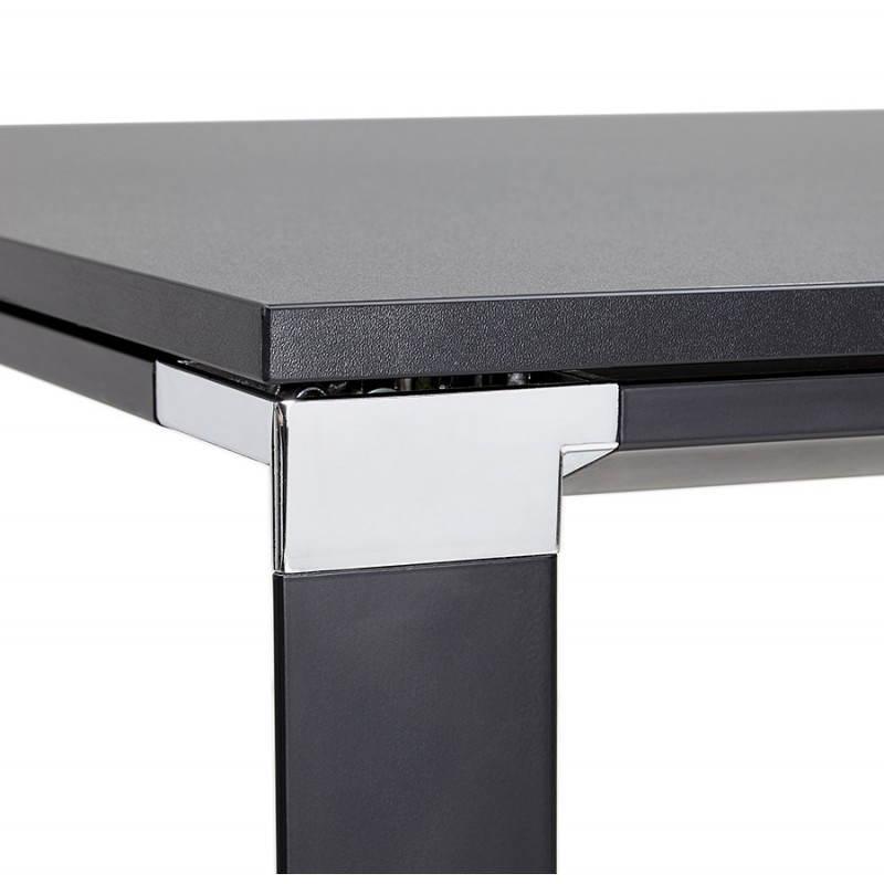 Bureau droit design BOUNY en bois (noir) - image 26026
