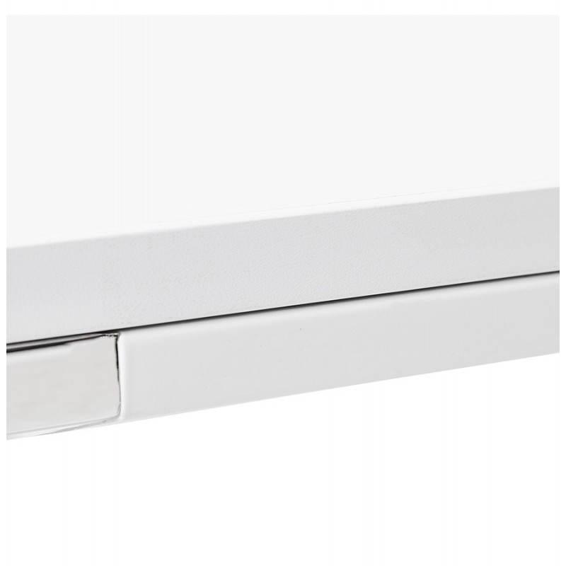 Bureau d'angle design CORPORATE en bois (blanc) - image 26075