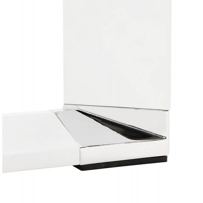 Bureau d'angle design CORPORATE en bois (blanc) - image 26081