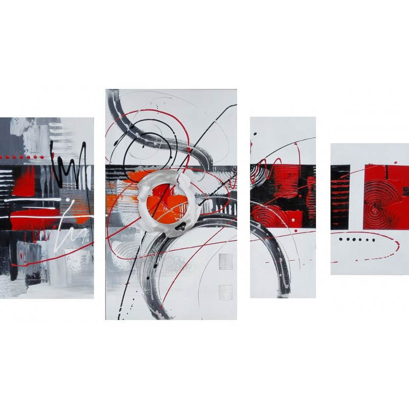 Table contemporary painting of abstract style circle  - image 26470