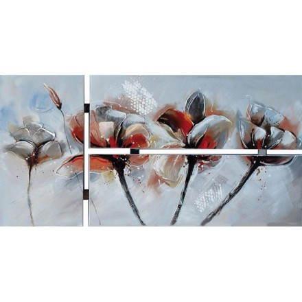 Tableaux peinture florale GERANIUM
