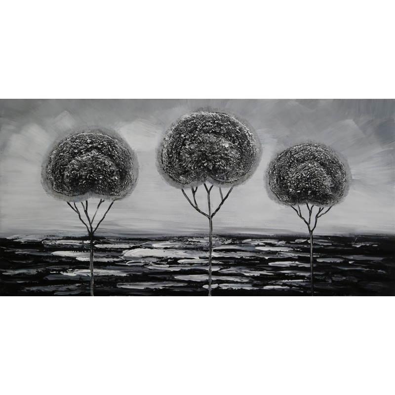 Tableau peinture figurative contemporaine ARBRES  - image 26507