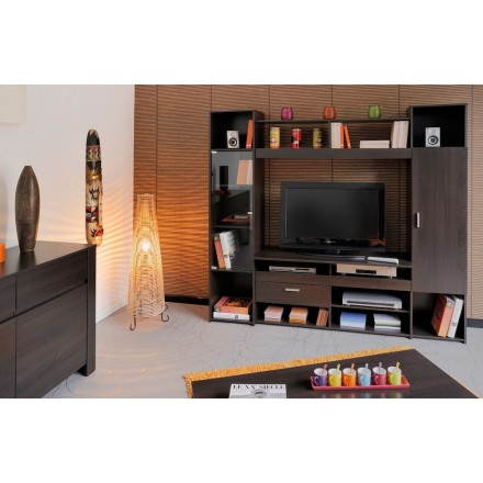 muebles tv video hifi dise o europa wenge. Black Bedroom Furniture Sets. Home Design Ideas