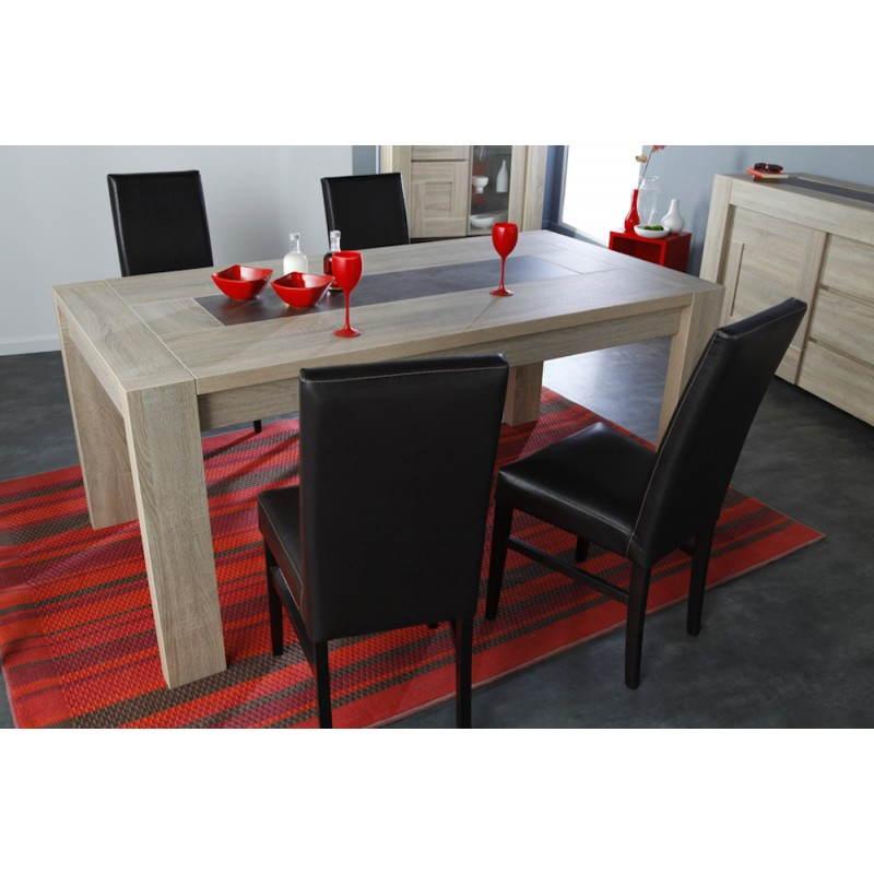 table manger extensible design auteuil ch ne brut b ton. Black Bedroom Furniture Sets. Home Design Ideas