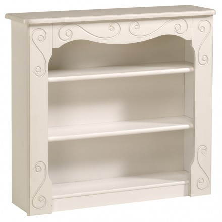 Stile romantico libreria ragazza altezza (bianco)