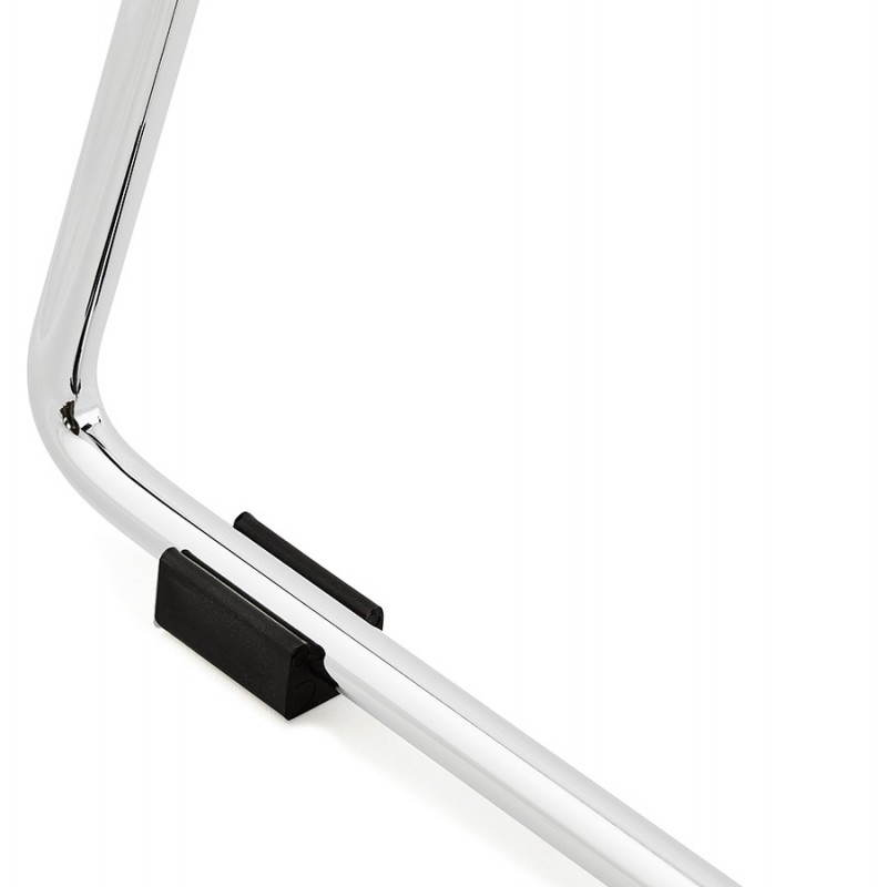 Tabouret de bar mi-hauteur design BRIO en polypropylène (noir) - image 27606