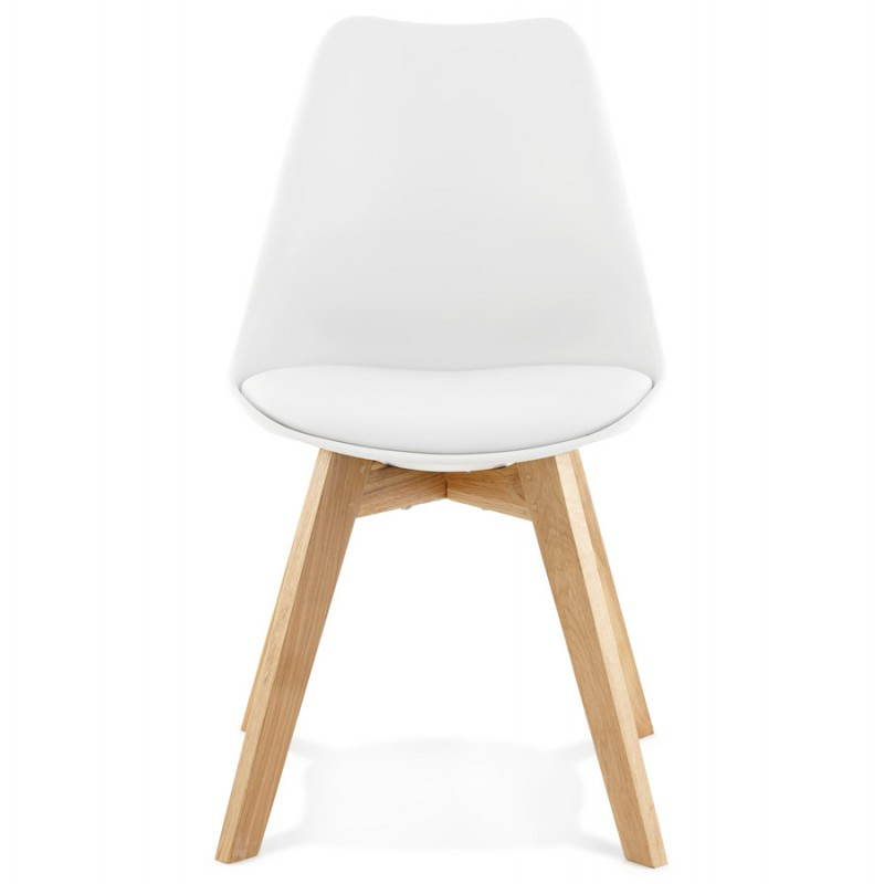 Contemporary Chair style Scandinavian FJORD (white) - image 27624