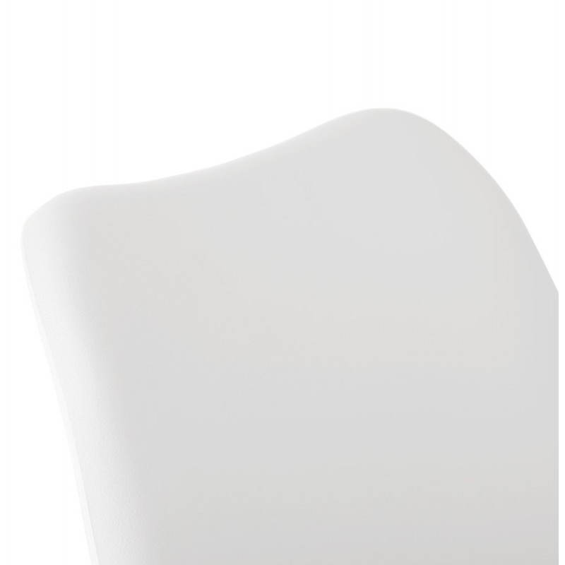 Chaise contemporaine style scandinave FJORD (blanc) - image 27630
