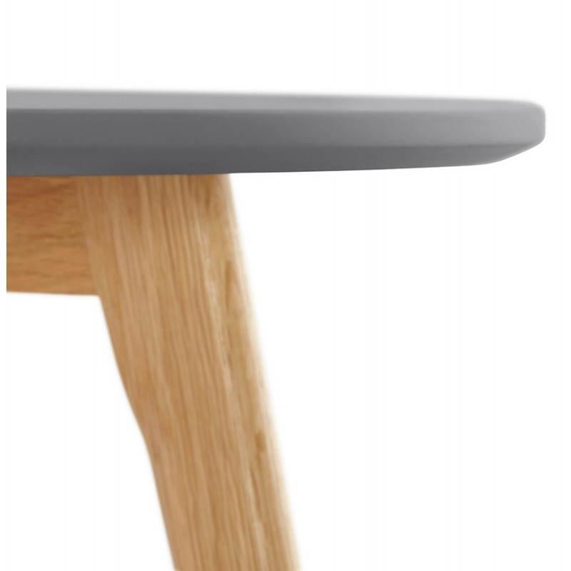 Tables basses design gigognes ART en bois et chêne massif (gris foncé) - image 27785