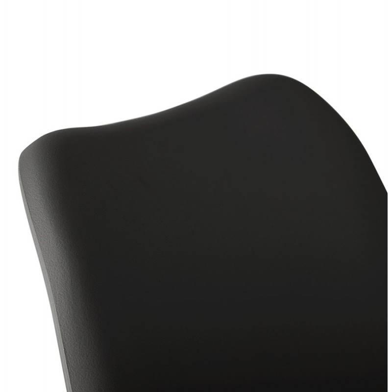 Chaise contemporaine style scandinave FJORD (noir) - image 27812