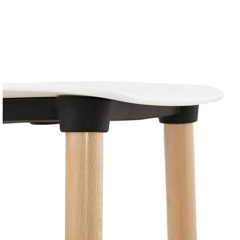 Skandinavisches Designstuhl SCHWEDEN (weiß) - image 27824