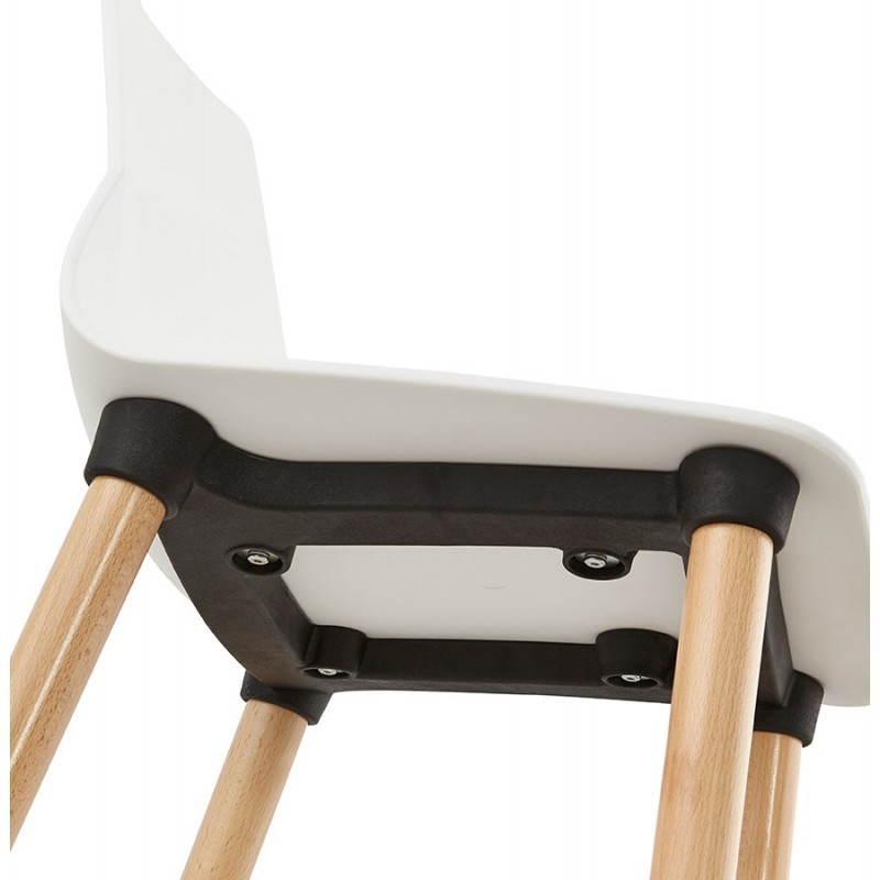 Skandinavisches Designstuhl SCHWEDEN (weiß) - image 27825