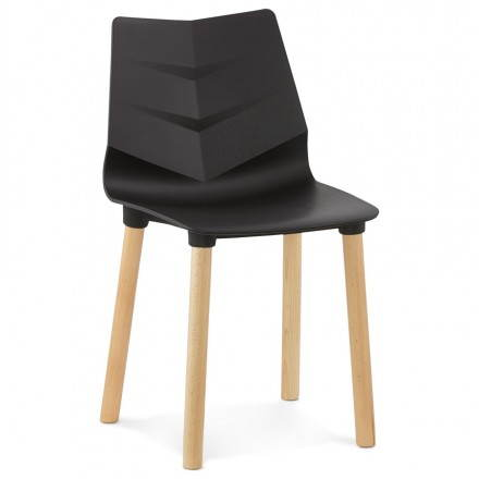 Scandinavian design chair SWEDEN (black)