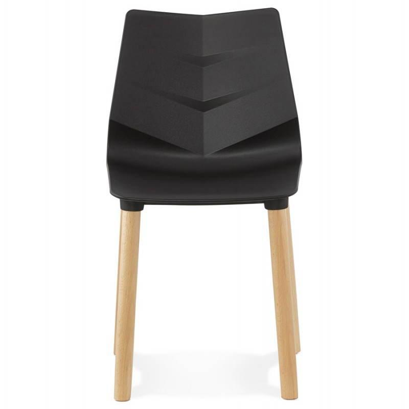 Silla de diseño escandinavo SUECIA (negro) - image 27831