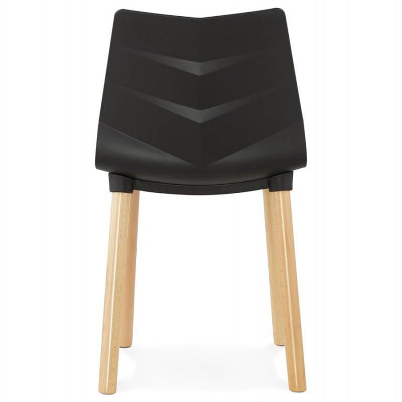 Silla de diseño escandinavo SUECIA (negro) - image 27834