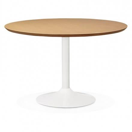 da pranzo rotondo design scandinavo STRIPE in metallo verniciato e ...