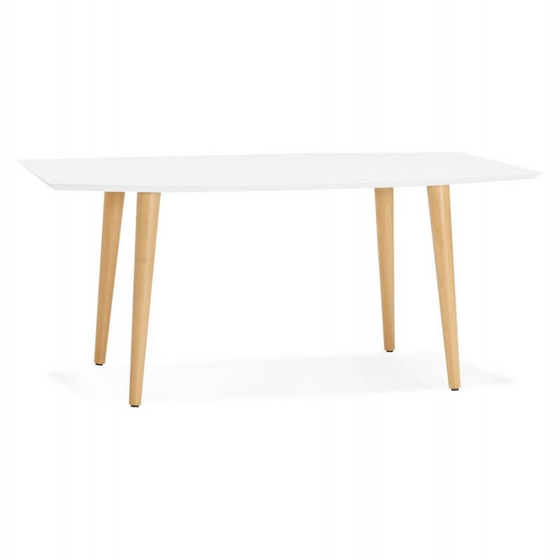 Table manger style scandinave avec rallonges trine en for Table a rallonge design scandinave