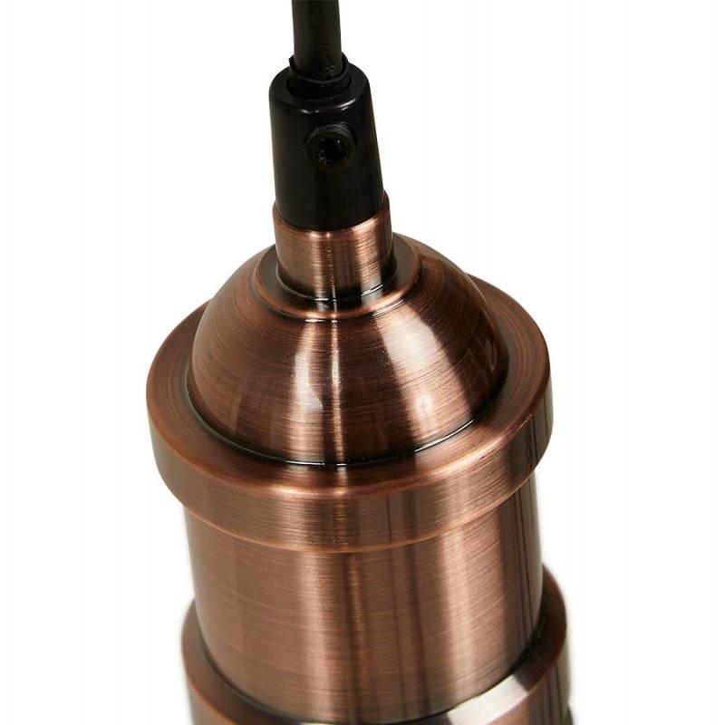 Douille pour lampe à suspension vintage industrielle EROS en métal (cuivre) - image 28232