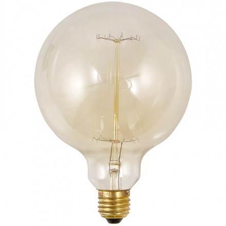 Ampoule ronde vintage industrielle IVAN BIG en verre (transparent, fumé)