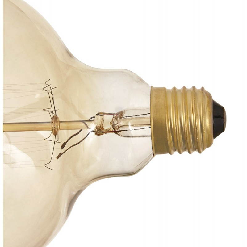 Ampoule ronde vintage industrielle IVAN BIG en verre (transparent, fumé) - image 28256