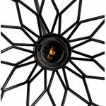 Lampe à suspension vintage MOSS en métal (noir)