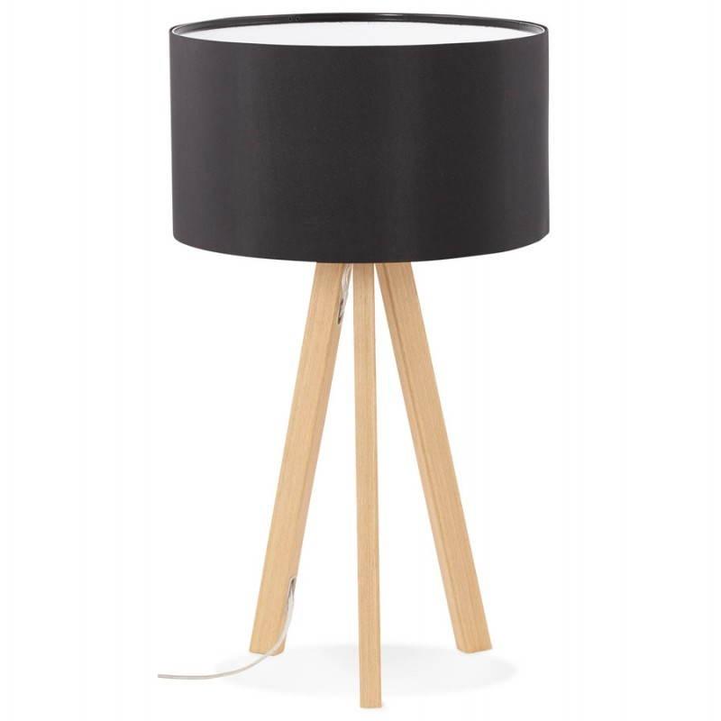 Lampe de table sur trépied scandinave TRANI MINI  (noir) - image 28535