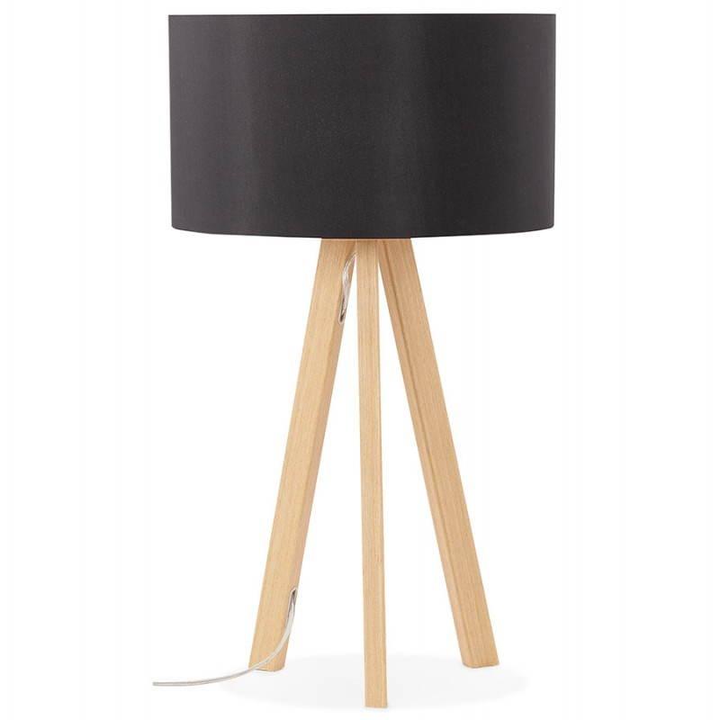 Lampe de table sur trépied scandinave TRANI MINI  (noir) - image 28537