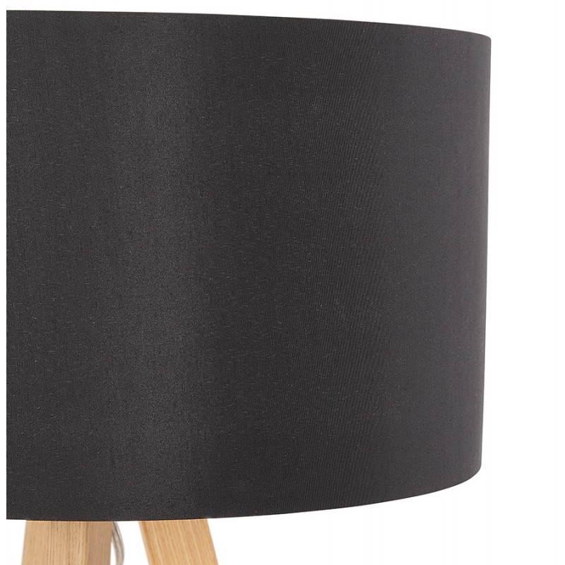 Lampe de table sur trépied scandinave TRANI MINI  (noir) - image 28538