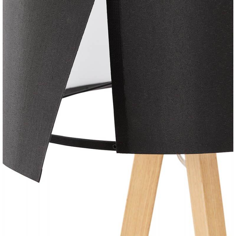 Lampe de table sur trépied scandinave TRANI MINI  (noir) - image 28539