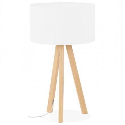Lampe Tisch auf Stativ skandinavischen TRANI MINI (weiß)