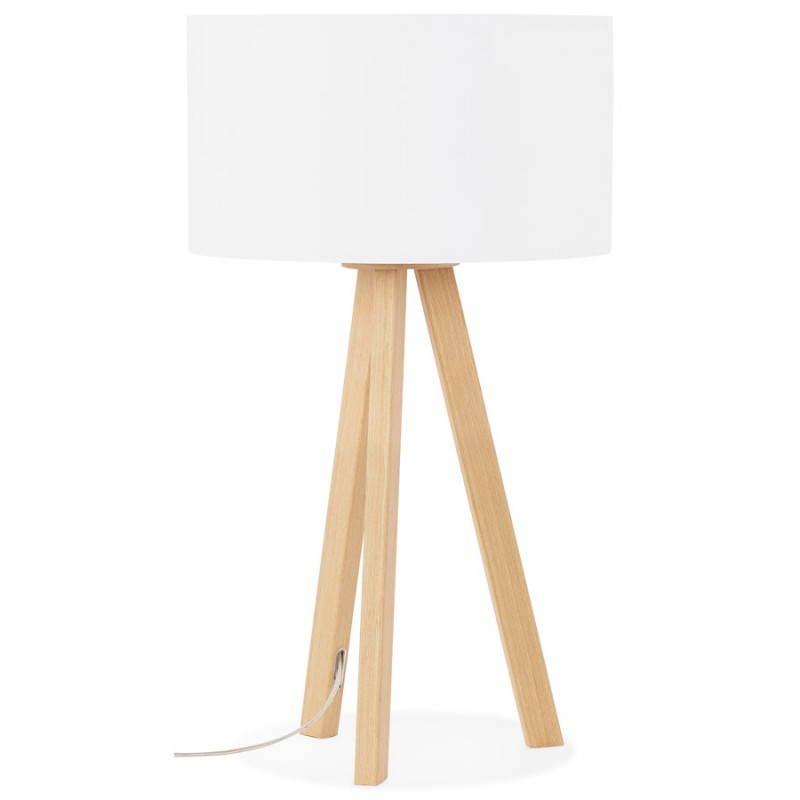 Lampe de table sur trépied scandinave TRANI MINI  (blanc) - image 28565