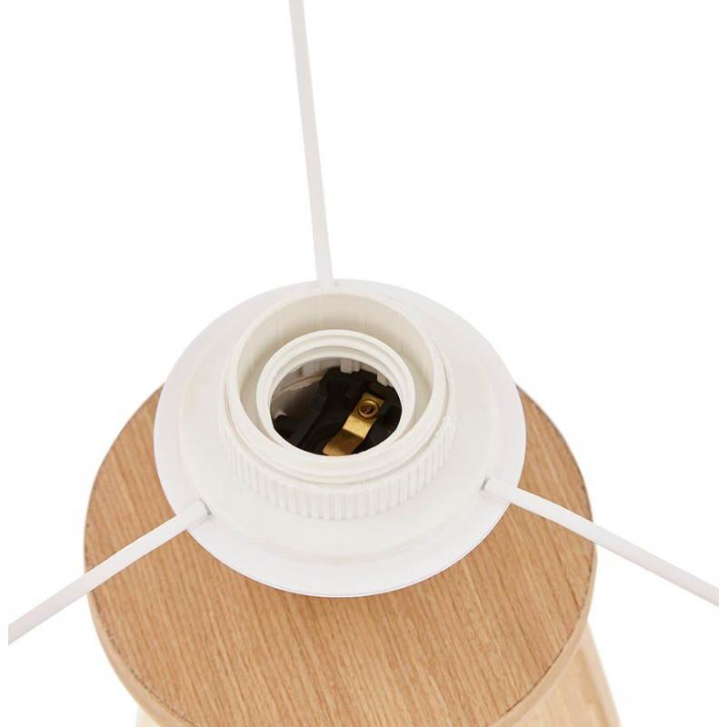Lampe de table sur trépied scandinave TRANI MINI  (blanc) - image 28571