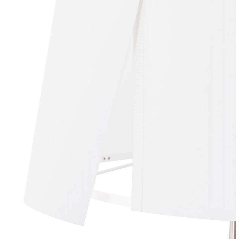 Lampe de table design réglable en hauteur LATIUM en tissu (blanc) - image 28686