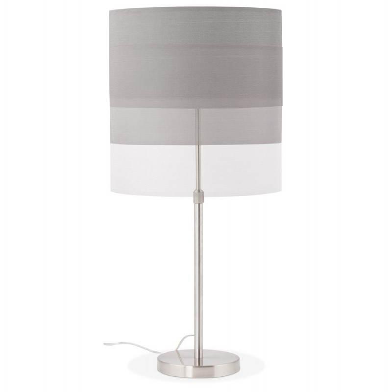 Table lamp design adjustable in height LAZIO (grey) - image 28696