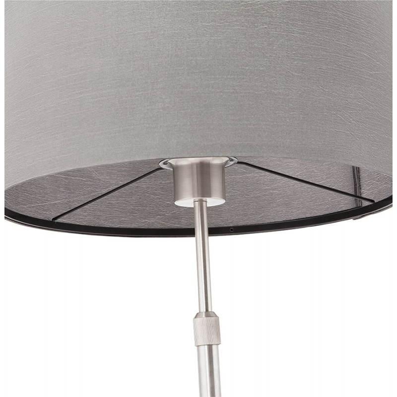 Table lamp design adjustable in height LAZIO (grey) - image 28702