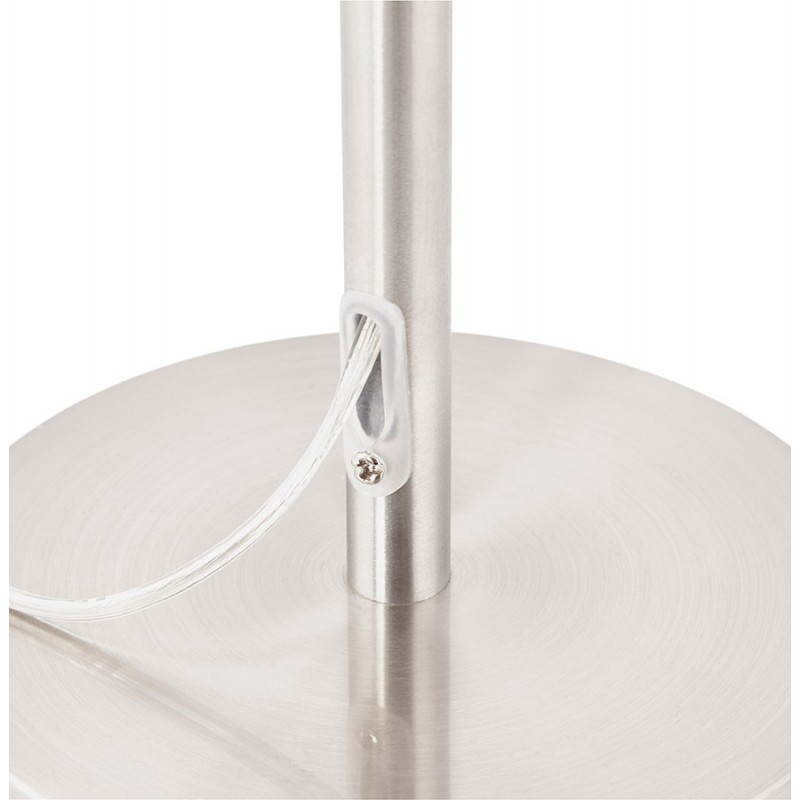 Lampe de table design réglable en hauteur LATIUM en tissu (noir) - image 28716